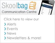 Skoolbag Comm Centre Btn_White